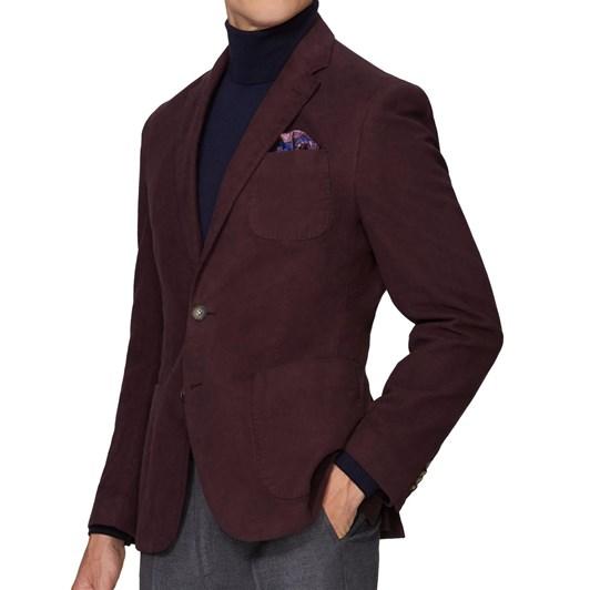 T.M.Lewin Pantani Burgundy Jacket
