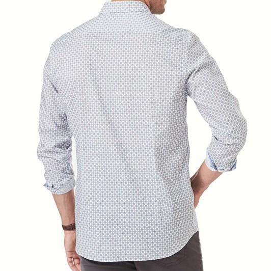 Gazman Tailored Smart Geo Tile Print
