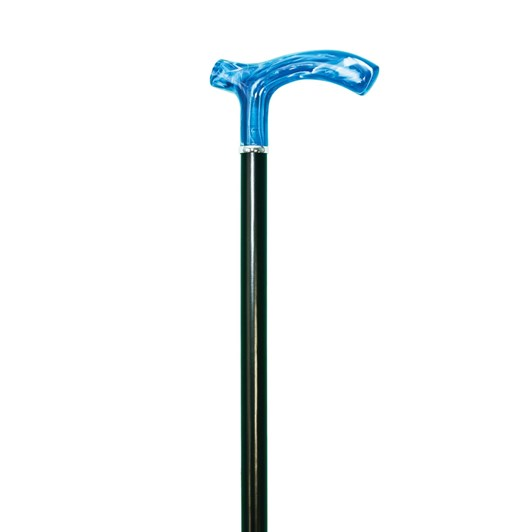 Charles Buyers Crutch Stick Blue Handle
