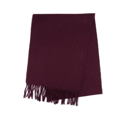 Hills Hats Wool Plain Scarf