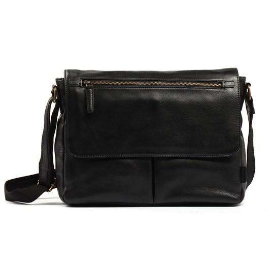 Ashwood Blake Leather Messenger Bag
