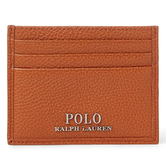 Polo Ralph Lauren Tumbled Leather Card Case