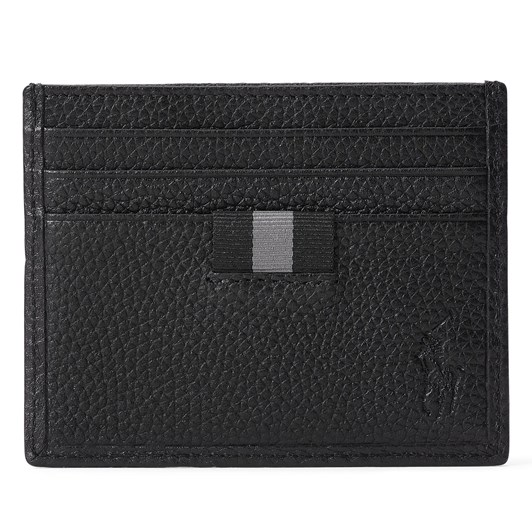 Polo Ralph Lauren Pebbled Leather Card Case