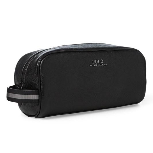 Polo Ralph Lauren Full-Grain Leather Shaving Kit