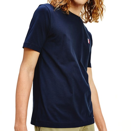 Tommy Hilfiger Icon Woven Label Relax Tee