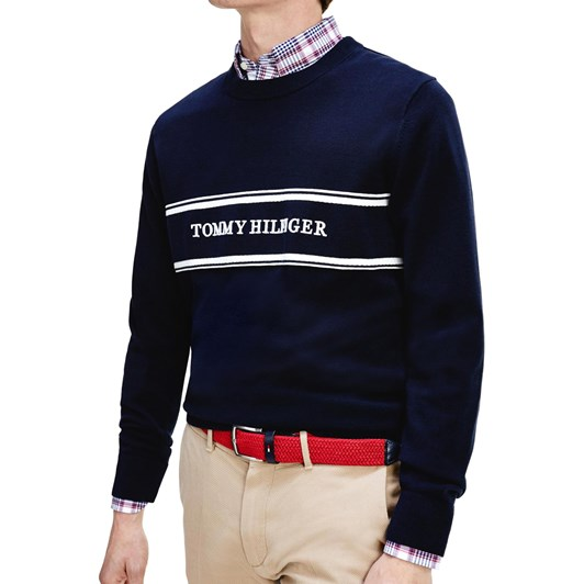Tommy Hilfiger Rope Logo Sweater