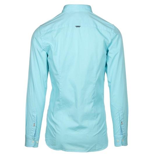 Tommy Hilfiger Slim Garment Dyed Twill Shirt