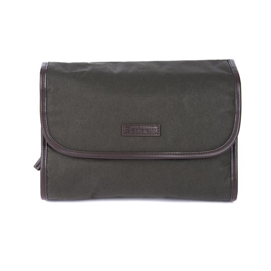 Barbour Wax Hanging Washbag