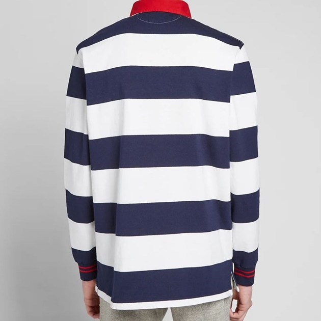 Polo Ralph Lauren Classic Fit Striped Rugby - navy stripe