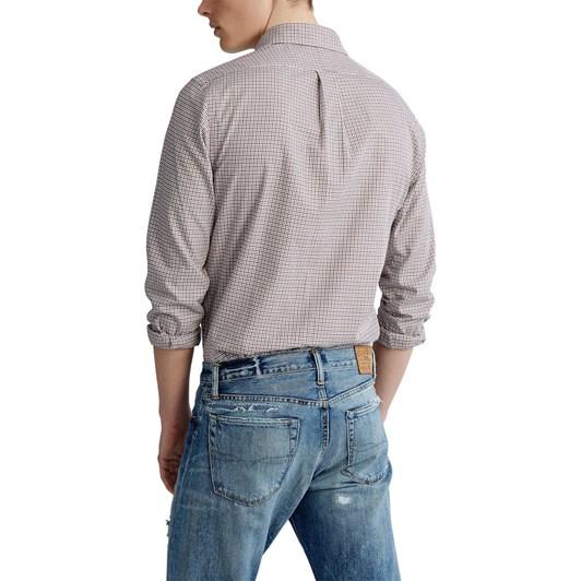 Polo Ralph Lauren Custom Fit Plaid Twill Shirt