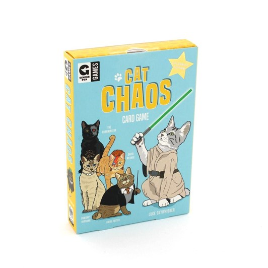 Ginger Fox Cat Chaos Card Game