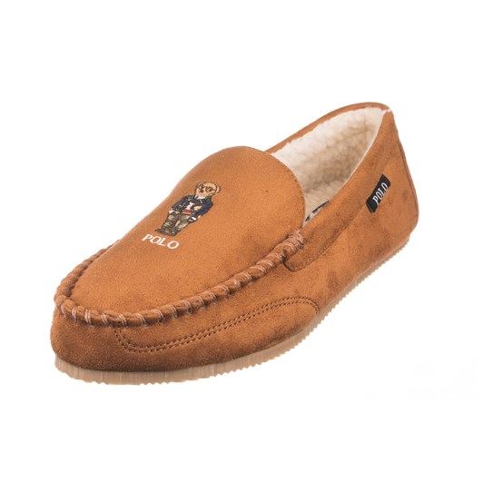 Polo RL Slippers Snuff Microsude