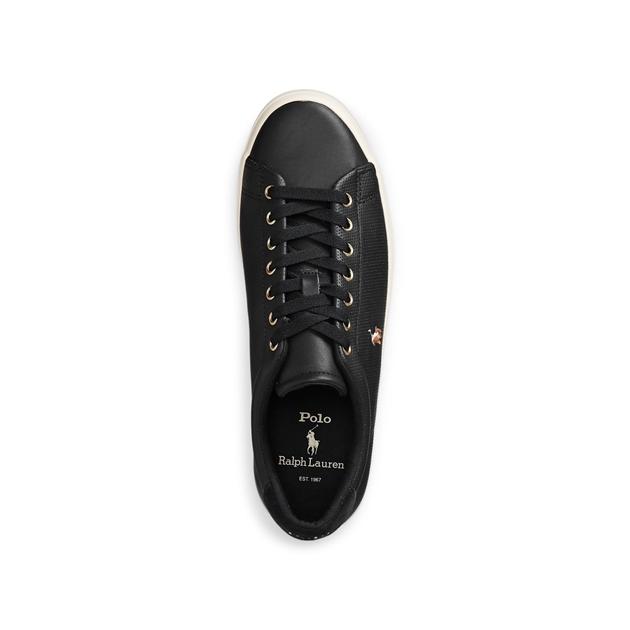 Polo Ralph Lauren Longwood Leather Sneaker - black