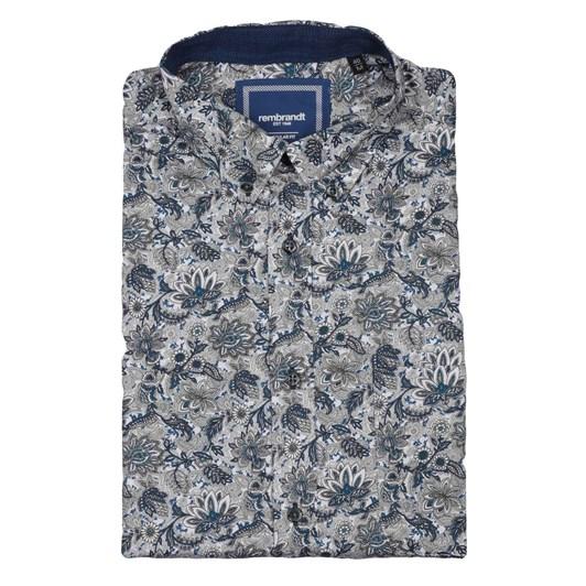 Rembrandt Awaroa Blue Floral Shirt