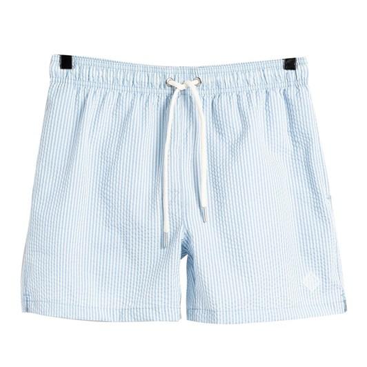 Gant Classic Fit Seersucker Swim Shorts