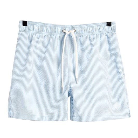 Gant Classic Fit Seersucker Swim Shorts