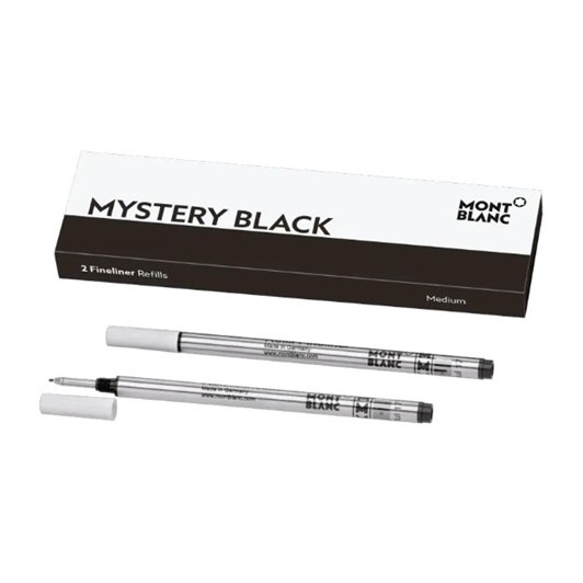 Montblanc - 2 x Fineliner Refills (M) Mystery Black