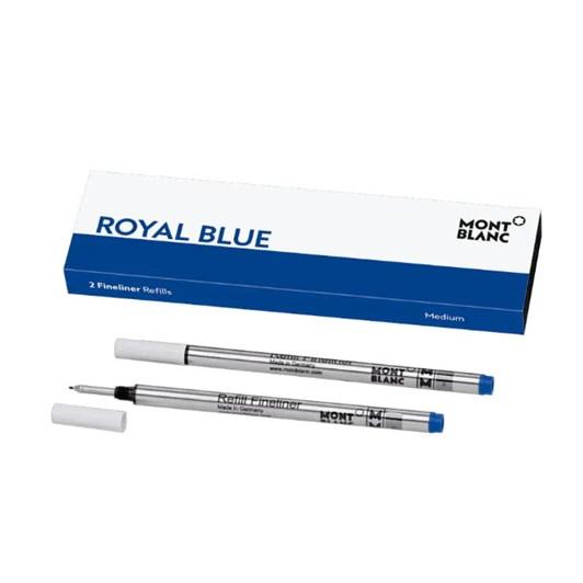 Montblanc - 2 x Fineliner Refills (M) Royal Blue