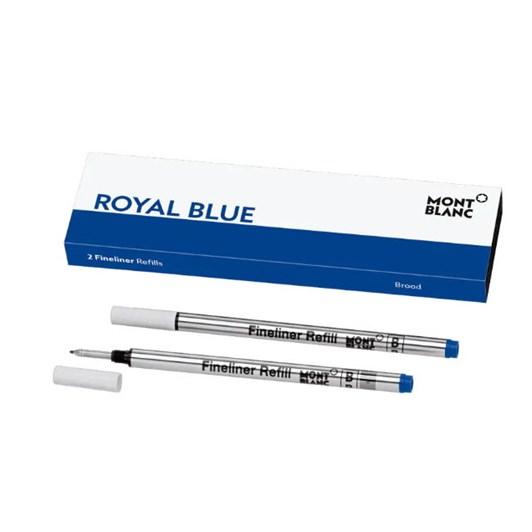 Montblanc - 2 x Fineliner Refills (B) Royal Blue