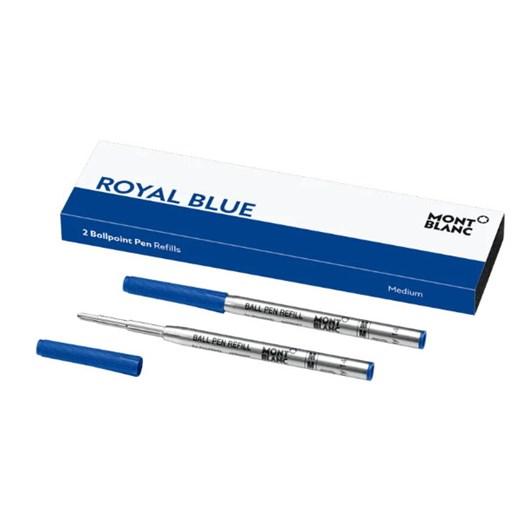 Montblanc - 2 x Ballpoint Pen Refills (M) Royal Blue