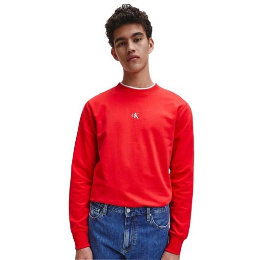 Calvin Klein Jeans PUFF PRINT CN MNS sweater