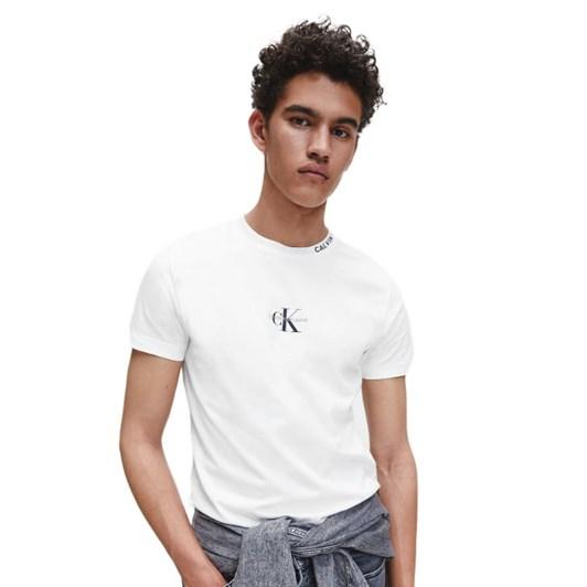 Calvin Klein Jeans CENTER MONO  MNS TEE