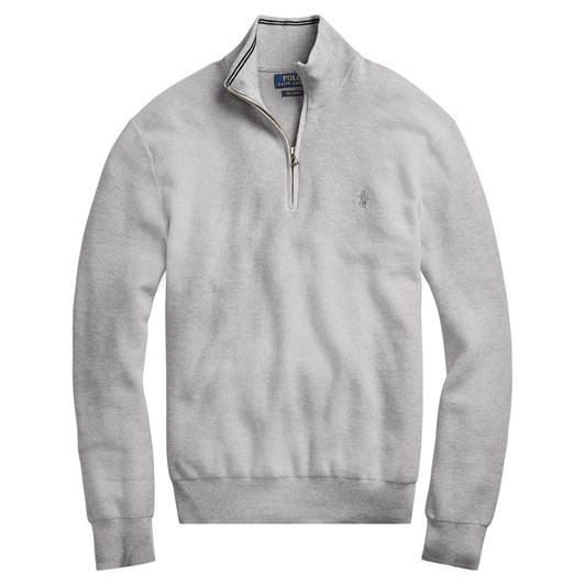 Polo Ralph Lauren Cotton Quarter-Zip Sweater