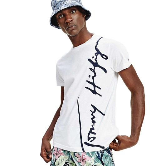 Tommy Hilfiger Th Cool Large Signature Tee