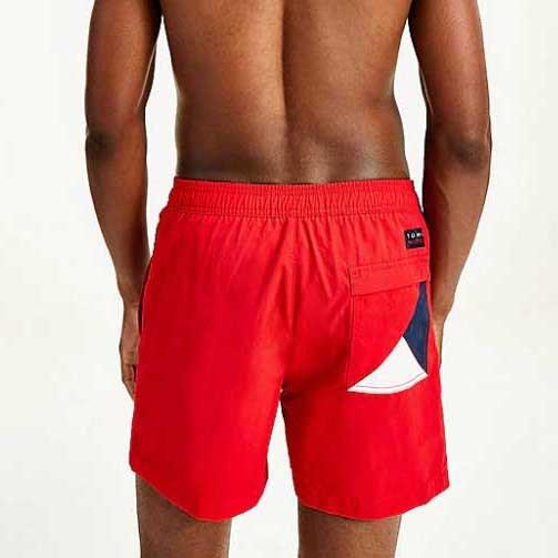 Tommy Hilfiger Side Logo Drawstring Swim Shorts