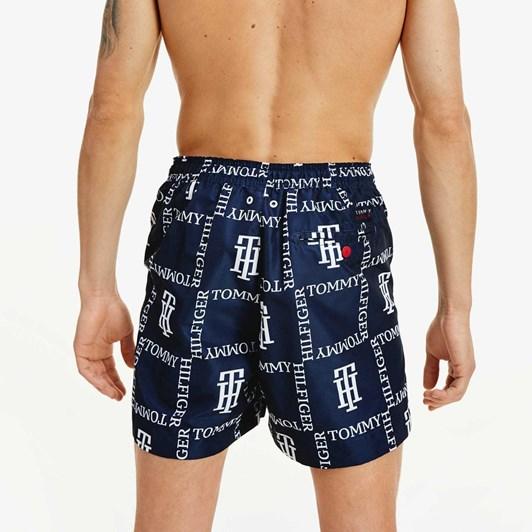 Tommy Hilfiger Square Logo Print Swim Shorts