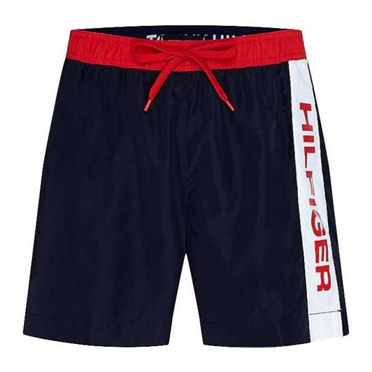 Tommy Hilfiger Logo Drawstring Mid Length Swim Shorts