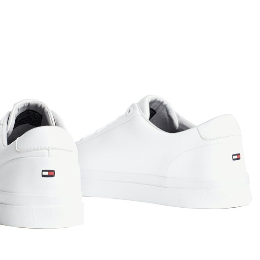 Tommy Hilfiger Signature Tape Leather Lace-Up Trainers