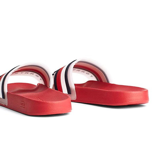 Tommy Hilfiger Logo Slip-On Slides
