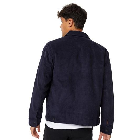 Levis Haight Harrington Jacket Nightwatch Blue