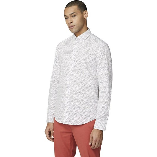 Ben Sherman Ls Printed Shirt