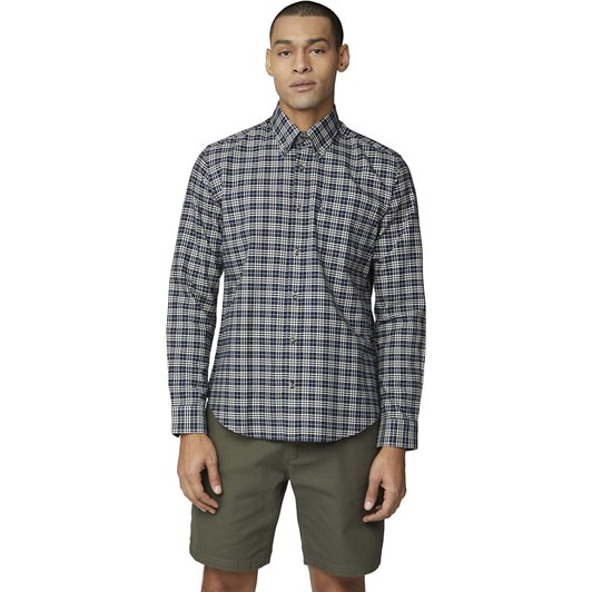 Ben Sherman Ls Oxford Check Shirt