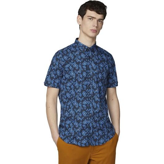 Ben Sherman Ss Paisley Shirt