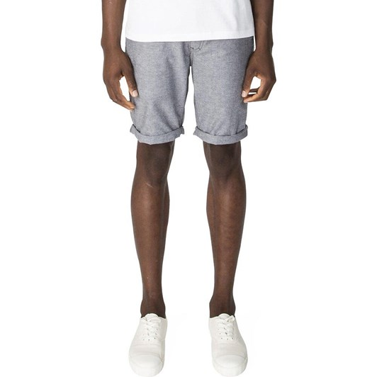Ben Sherman Chambray Texture Relaxed Short