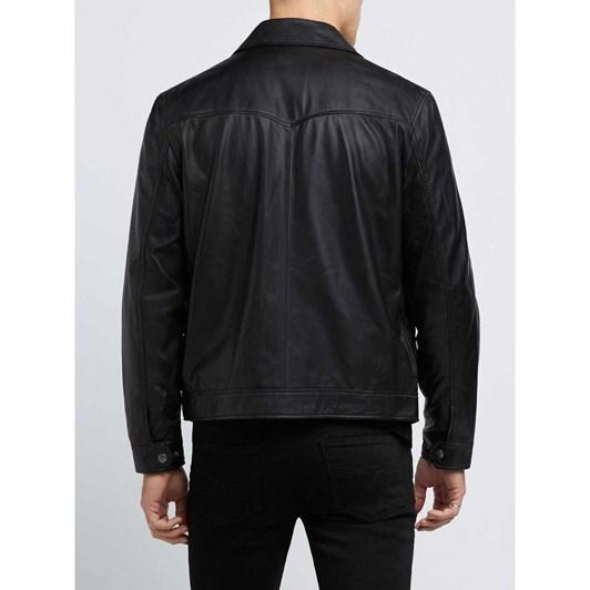R.M. Williams Colton Lambskin Leather Jacket