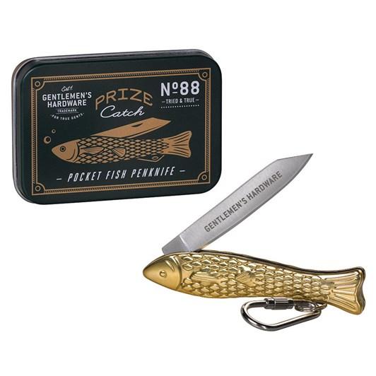 Gentleman's Hardware Pocket Fish Pen Knife