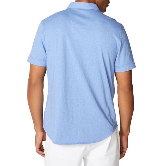 Nautica Ss Harbor Shirt Clear