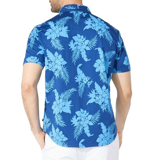 Nautica Ss Prt Harbor Shirt