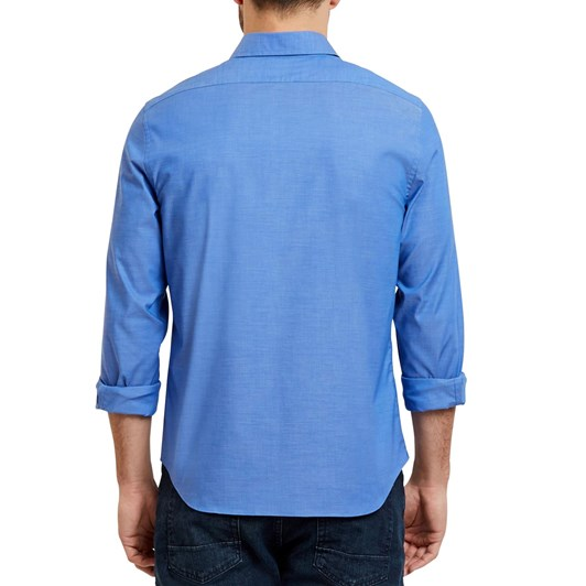 Nautica L/S Wtw Solid Bdls Slim Fit French