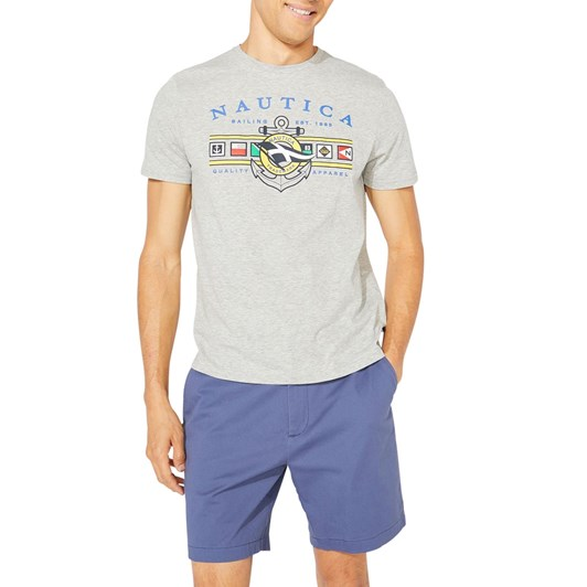 Nautica S/S Colored Flags T-Shirts