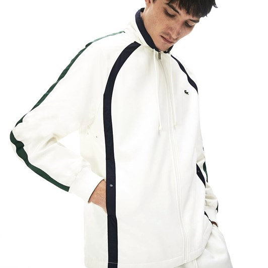 Lacoste Heritage Double Face Zip Jacket