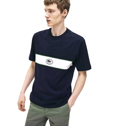 Lacoste Heritage Heavy Jersey T-Shirt