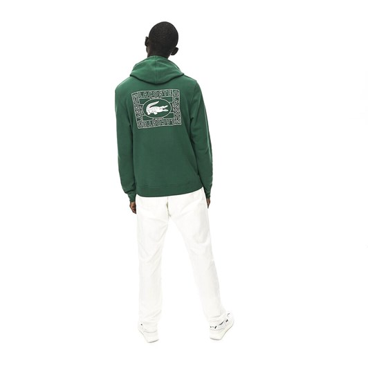 Lacoste Postage Stamp Croc Hooded