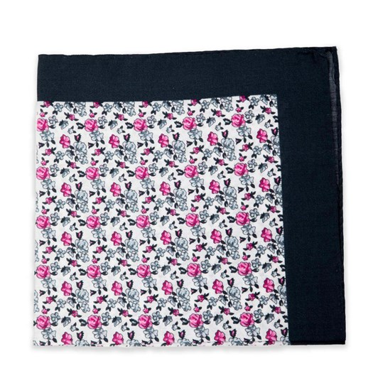 Gibson Neat Floral Pocket Square