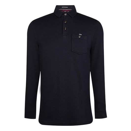 Ted Baker Akt Long Sleeve Polo Shirt