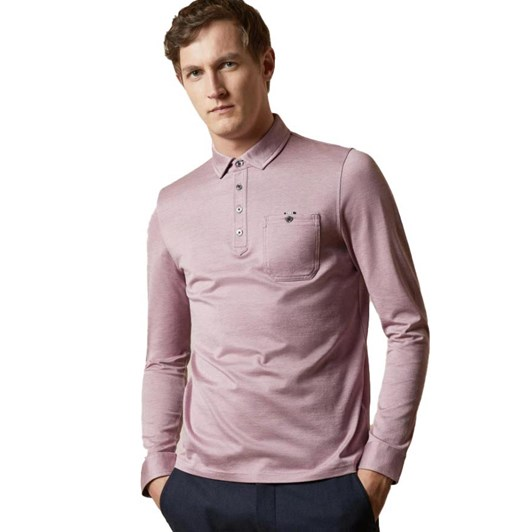 Ted Baker Amuse Long Sleeve Oxford Polo